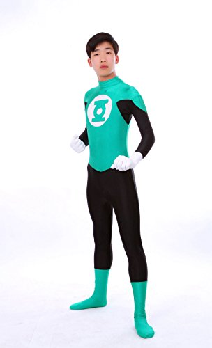 Riekinc Green Lantern Zentai Suit (Green Lantern Costume For Men)