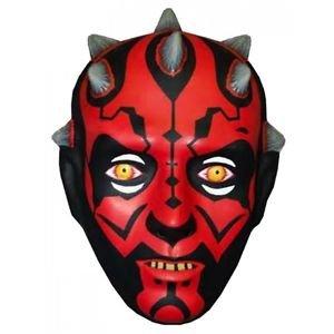 Darth Maul Mask Kids Star Wars Costume Halloween Fancy Dress (Darth Maul Face Paint)