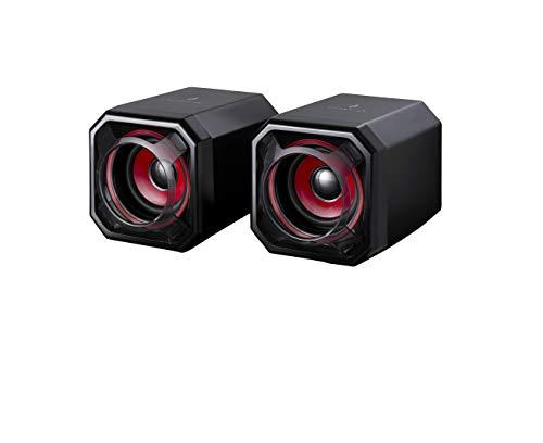 SureFire Gator Eye Gaming Speakers Red