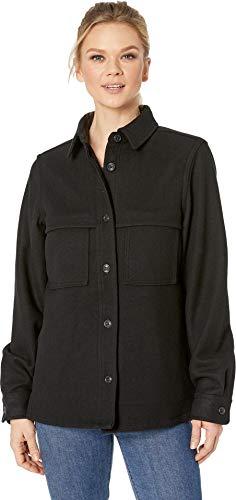 Filson Women's Wool Jac Shirt Black Large