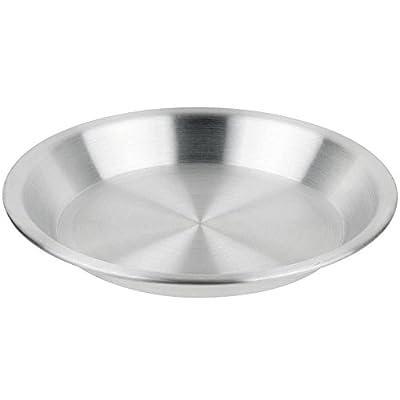 "Royal Industries Pie Pan, 1 1/4"" Deep, Aluminum, 21 Guage, Commercial Grade"