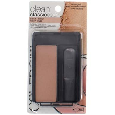 CoverGirl Classic Color Blush, Natural Glow [570], 0.3 oz (Pack of 2) ()