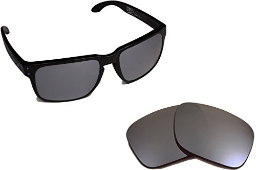 Best SEEK OPTICS Replacement Lenses Oakley HOLBROOK - Black - Iridium Black Holbrook