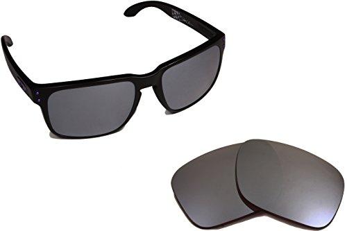Best SEEK Replacement Lenses Oakley HOLBROOK LX - Polarized Black - Black Iridium