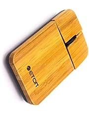 ماوس خشبي يو إس بي  من خشب البامبو( الخيزران) قابل لاعادة الشحن  يو اس بي  ، مناسب للألعاب ، مناسب للكمبيوتر المحمول و المكتبي