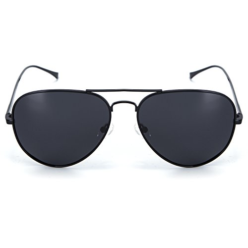 c5fcdaa320 Amazon.com  YJMILL 2017 New Polarized Sunglasses Retro Pilots Riding  Fishing Golf Travel Sunglasses Men 0863 (black