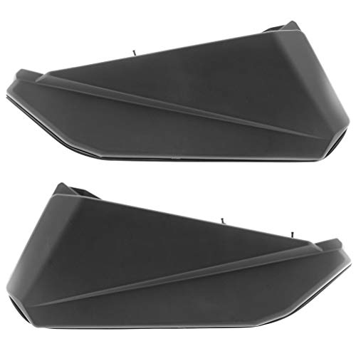 (Replacement Lower Door Panels Inserts for Can Am Maverick X3, Black (Left & Right))