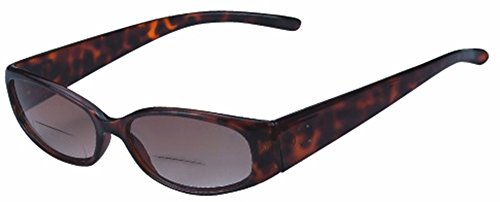 Rodeo i5 Tinted Bi Focal Sun Readers Sunglasses (Tortoise, - Sunglasses Percription