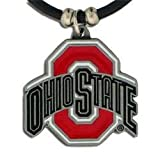 NCAA Ohio State Buckeyes Rubber Cord Necklace