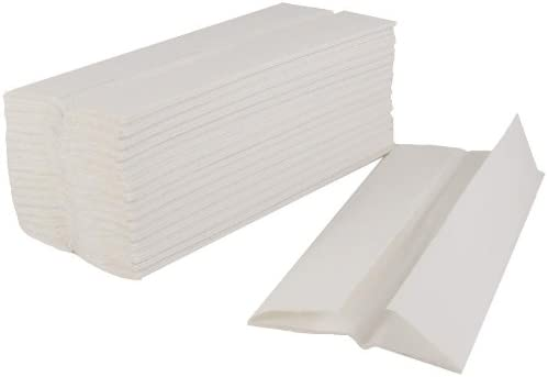 Enov C-Fold Luxury Hand Towels 2 Ply White Pack of 2400
