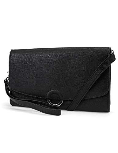Mundi Avery Convertible Small Womens RFID Crossbody Wallet Purse Wristlet ()