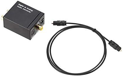 Jacobden - Conversor de Audio Digital a analógico (Fibra coaxial a ...