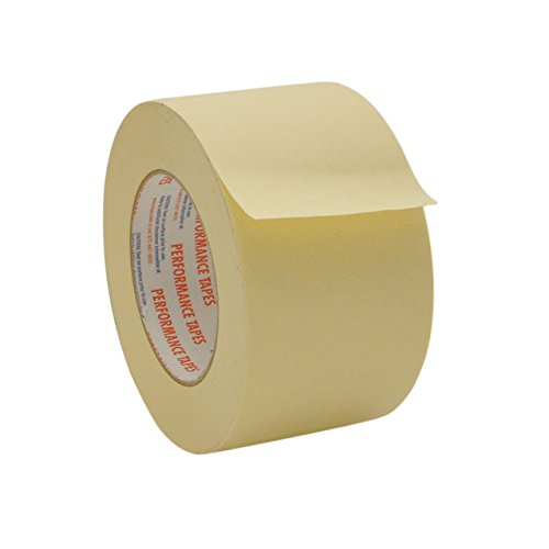Intertape PG21 High Temperature Masking Tape: 3 in. x 60 yds. (Natural) Intertape Masking Tape