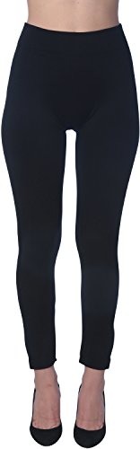 Active Club Women's Fleece Lined Leggings - Seamless High Waisted soft Brushed,2X/3X,Black/Navy/Dk Grey/Olive/Rose/Brown by Active Club (Image #5)