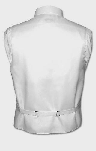 Bow-Tie /& Hankie Set in Paisley Wedding Mens Formal Prom Tuxedo Vest