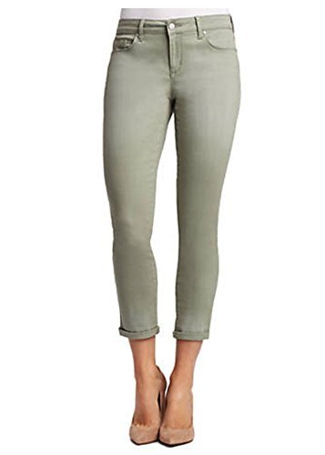 Jessica Simpson Rolled Crop Skinny Jean (6/28, Meadow Green) from Jessica Simpson