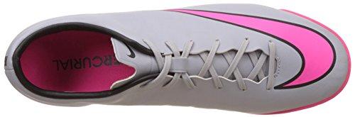 Nike Mercurial Victory V IC, Scarpe da Calcetto Uomo Grigio (Grau (Wolf Grey/Hyper Pink-black-black 060))