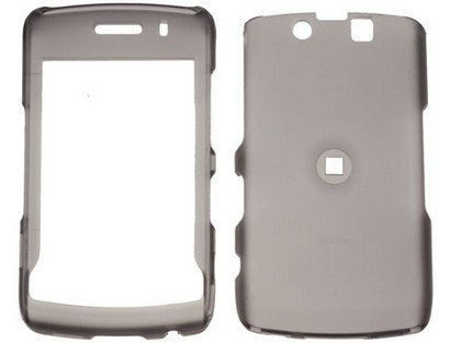 DreamWireless ICBB9550SM Blackberry Storm Ii 9550 Transparent Rubber Case - Smoke ()