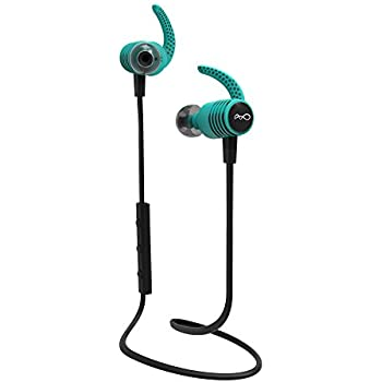 BlueAnt - Pump Mini 2 HD Wireless Sportbuds, Stable and Lightweight, Delivering Energized HD Audio to Inspire Every Workout (Teal)