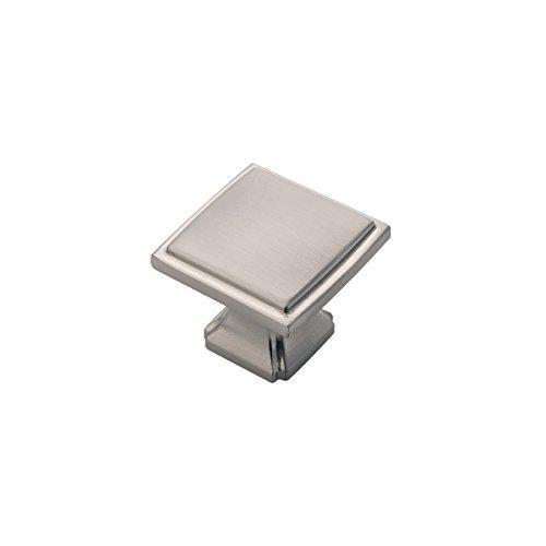 Hickory Hardware P3240-SN-10B Bridge's Collection Knob 1-1/4 Inch Diameter, Satin Nickel, 10 Each ()