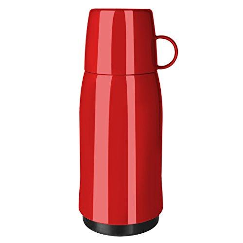 Emsa 201931 Termo con Taza, Rojo, 0,5 l