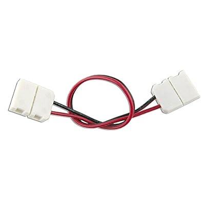 HitLights 10mm (SMD5050) Single Color Light Strip Connectors