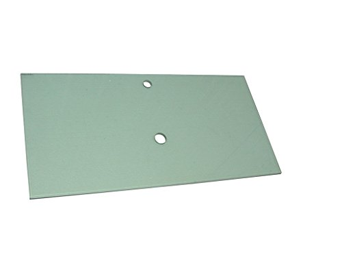 Luxo Marbre VERSH 3119-1-CL Tempered Glass Plate for Coun...