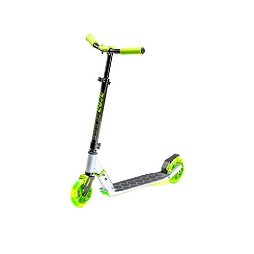 Neon Flash Kids Scooter with LED Lights | Light Up Deck & Wheels Kick Scooter by Neon
