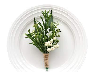 Yokoke-Handmade-Artificial-Succulent-Corsage-Wristlet-Realistic-Berry-Green-Plants-Boutonniere-for-Wedding-Decor-2-Pcs
