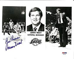 - Jerry West Signed 8x10 Photo Los Angeles Lakers Best Regards - PSA/DNA Authentication - NBA Basketball Photos