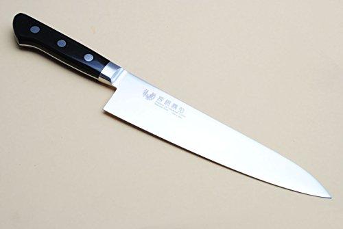 Yoshihiro Inox Stain-resistant Aus-10 Steel Ice Hardened Gyuto Chefs Knife 9.4'' (240mm) by Yoshihiro
