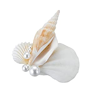 Lillian Rose Coastal Beach Wedding Seashell Boutonniere 5