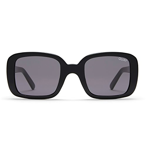 Quay Australia 20's Women's Sunglasses Classic Chic Square Sunnies - - Quay Sunglasses Kylie