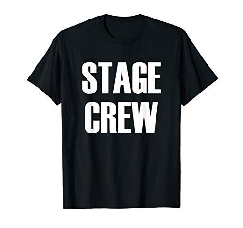 (Stage Crew - Theatre Staff Member T-Shirt )