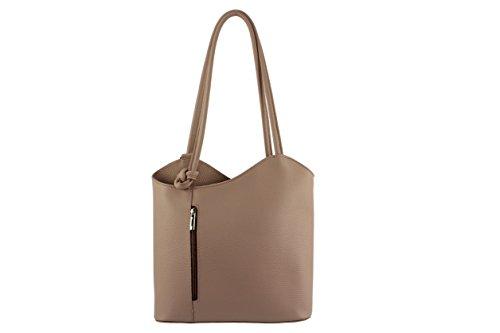 CHLOLY - Bolso mochila  de Otra Piel para mujer rosa claro