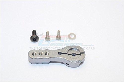 Aluminum Servo Horn For 23T Spline Output Shaft 3 Holes Design For Airtronics/Ko/Jr - 1Pc Gray (Jr Airtronics Ko Servo Horn)