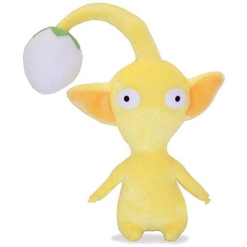 Official Nintendo Pikmin 2 Plush Toy - 7 Yellow Bud (Japanese Import) by Sanei by San-ei