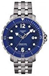 Tissot T-Sport Seastar 1000 Blue Dial Automatic Men's Watch T0664071104702