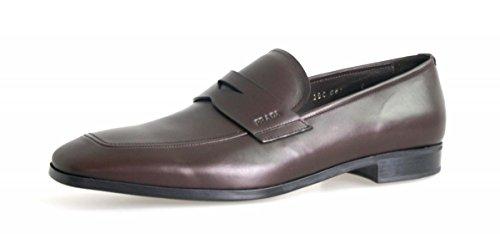 Prada Menns 2dc061 Skinn Forretnings Sko