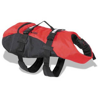 NRS Dog Flotation Lifejacket-Red-M, Outdoor Stuffs
