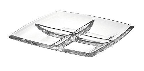 Majestic Gifts AE63236 European Glass Square Relish Dish, 11