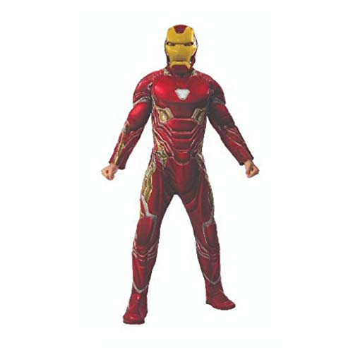 Rubie's Men's Marvel Avengers Infinity War Iron Man Deluxe Costume, X-Large