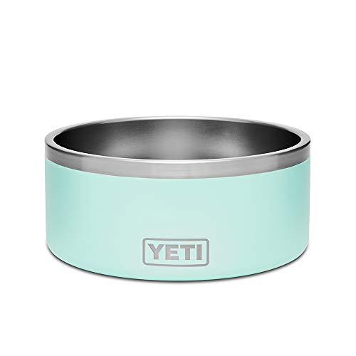 (YETI Boomer 8 Stainless Steel, Non-Slip Dog Bowl, Seafoam Duracoat)