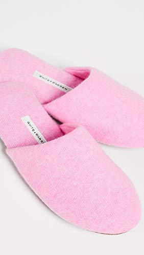 Slide Cashmere Slippers White Women's Cotton Candy Heather Warren tq67wwv