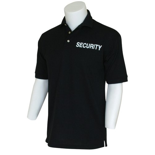 Fox Outdoor Products Security Imprinted Polo Shirt, Black, XX-Large