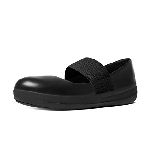 Jane Tm Nero Leather Donna Fitflop Mary black Basse Fsporty pB7SH