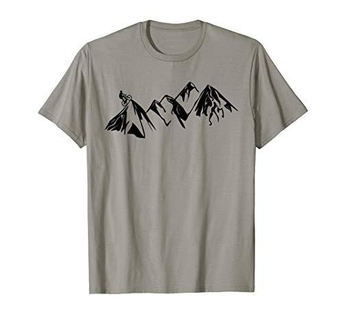 Mountain Bike Tee Shirt MTB Biking Riding Trails Men T-Shirt (Best Mtb Trails In Colorado)