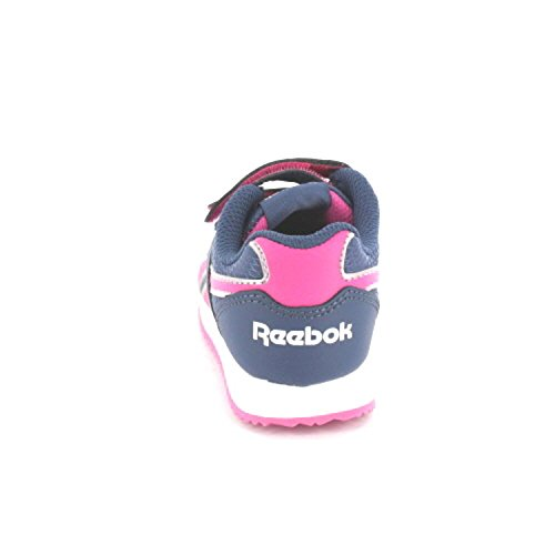 Reebok ROYAL CL JOGGER 2V V63294 Unisex - Kinder Sportschuh Dunkelblau-Rosa