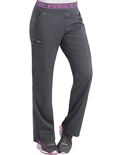 (Med Couture Touch Women's Yoga 2 Cargo Pocket Scrub Pant, X-Large Tall,)