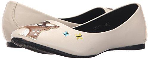 u T Beige Ballet deer Women's Doe Flats Shoes k a TddFqf